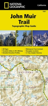 John Muir Trail (Topographic Map Guide) : National Geographic California, Sheet map, folded Book