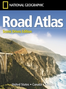 Road Atlas: Scenic Drives Edition (united States, Canada, Mexico), Sheet map, folded Book