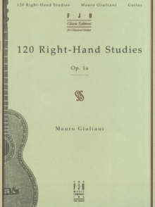 120 Right-hand Studies : Op. 1A, Paperback Book