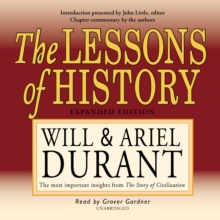 The Lessons of History, eAudiobook MP3 eaudioBook