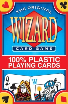 Wizard Card Game 100% Plastic Playing Cards, Cards Book