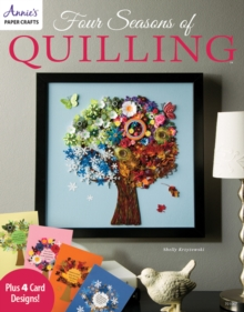 Four Seasons of Quilling, Paperback Book