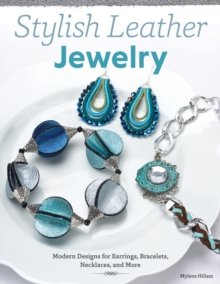 Stylish Leather Jewelry, Paperback Book