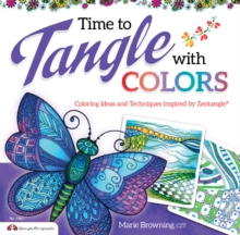 Time to Tangle with Colors, Paperback Book