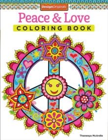 Peace & Love Coloring Book, Paperback / softback Book