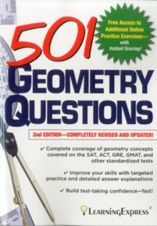 501 Geometry Questions, Paperback Book