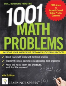 1,001 Math Problems, Paperback Book