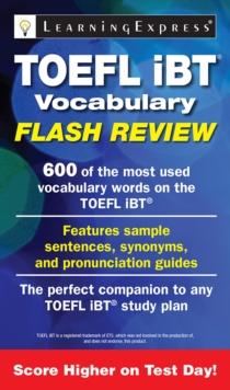TOEFL iBT Vocabulary Flash Review, Paperback Book