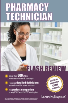 Pharmacy Technician Flash Review, Paperback Book