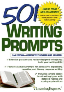 501 Writing Prompts, Paperback Book