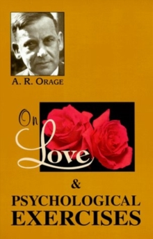 On Love & Psychological Exercises, Paperback / softback Book