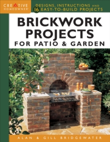 Brickwork Projects For Patio & Garden, Hardback Book