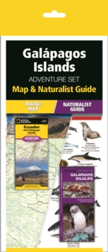 Galapagos Islands Adventure Set : Map & Naturalist Guide, Kit Book