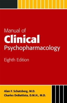Manual of Clinical Psychopharmacology, Paperback Book