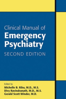 Clinical Manual of Emergency Psychiatry, Paperback Book