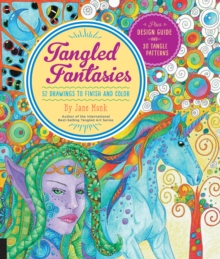 Tangled Fantasies : 52 Drawings to Finish and Color, Paperback / softback Book