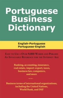 Portuguese Business Dictionary, EPUB eBook