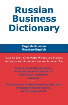 Russian Business Dictionary, EPUB eBook