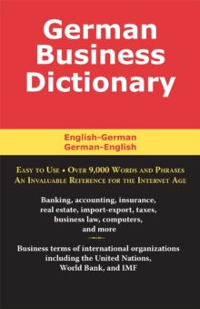German Business Dictionary, EPUB eBook