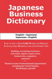 Japanese Business Dictionary, EPUB eBook