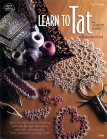 Learn to Tat : With Interactive DVD, Mixed media product Book