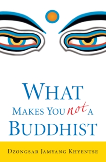 What Makes You Not a Buddhist, Paperback Book