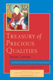 Treasury Of Precious Qualities, Paperback Book