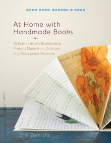 At Home With Handmade Books, Paperback Book