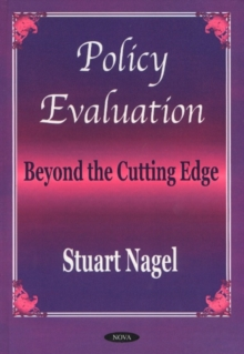 Policy Evaluation : Beyond the Cutting Edge, Hardback Book