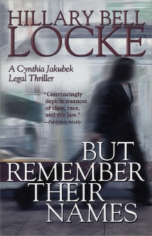 BUT REMEMBER THEIR NAMES, Hardback Book