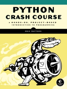 Python Crash Course, Paperback Book