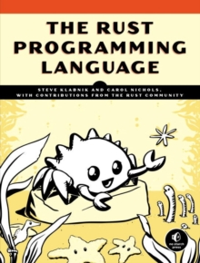 The Rust Programming Language, Paperback Book
