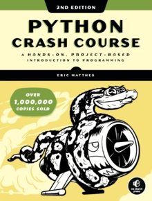 Python Crash Course (2nd Edition), Paperback Book