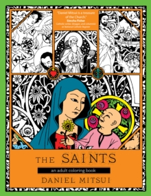 The Saints : An Adult Coloring Book, Paperback Book