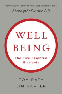 Well-being: The Five Essential Elements, Hardback Book