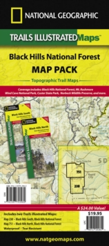 Black Hills National Forest, Map Pack Bundle : Trails Illustrated Other Rec. Areas, Sheet map, folded Book