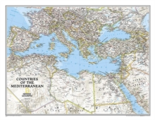 Mediterranean Region Classic, Tubed : Wall Maps - Countries & Regions, Sheet map, rolled Book