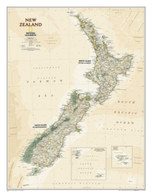 New Zealand Executive, Laminated, Sheet map Book