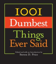 1001 Dumbest Things Ever Said, EPUB eBook