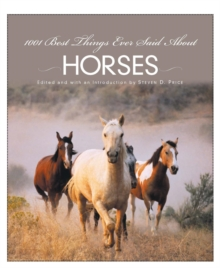 1001 Best Things Ever Said About Horses, EPUB eBook