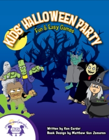 Kids Halloween Party, PDF eBook
