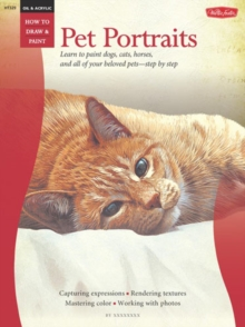 Oil & Acrylic : Pet Portraits, Paperback Book