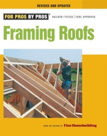 Framing Roofs, Paperback Book