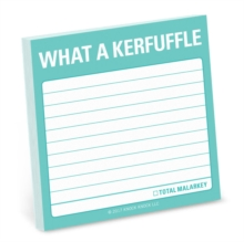 Knock Knock What a Kerfuffle Sticky Note, Stickers Book