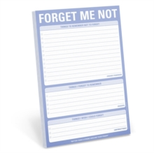 Knock Knock Forget Me Not Pad, Other printed item Book
