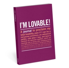 Knock Knock I'm Lovable Mini Inner-Truth Journal, Record book Book