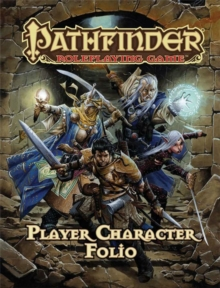 Pathfinder Roleplaying Game Player Character Folio, Paperback Book