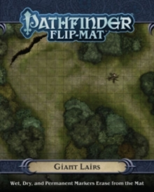 Pathfinder Flip-Mat: Giant Lairs, Game Book