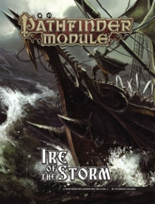 Pathfinder Module: Ire of the Storm, Paperback Book