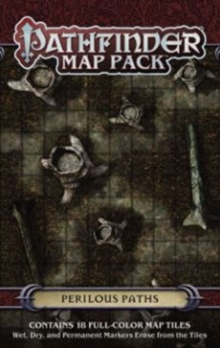 Pathfinder Map Pack: Perilous Paths, Game Book